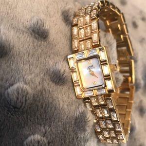 Anne Klein Watch with Crystals